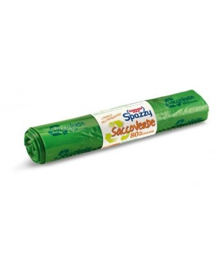 Domopak Spazzy Verde Sacchetti 110 lt
