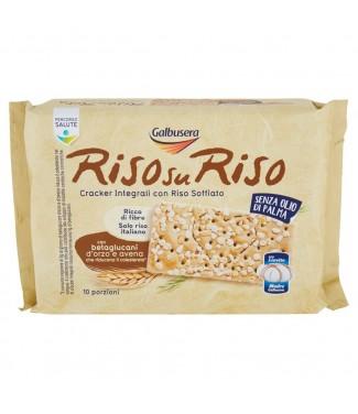 Galbusera Risosuriso Cracker Integrali con Riso Soffiato