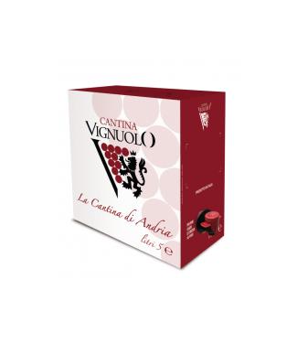 Chardonnay I.G.P. Puglia Bag in Box Cantina Vignuolo
