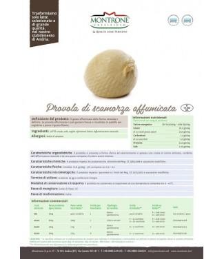 Provola di Scamorza Affumicata 500 g Montrone