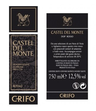 Castel del Monte rosso 2014 DOP Grifo