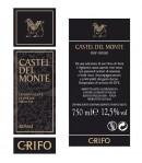 Castel del Monte rosso 2014 DOP Grifo etichetta