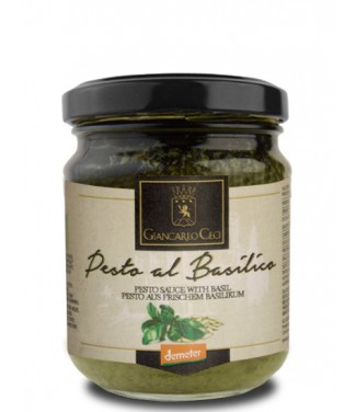 Pesto al Basilico 130gr Giancarlo Ceci