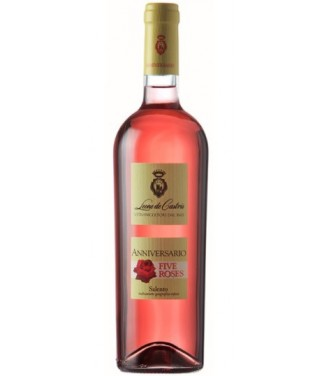 Leone de Castris Five Roses Anniversario I.G.T. 75 cl