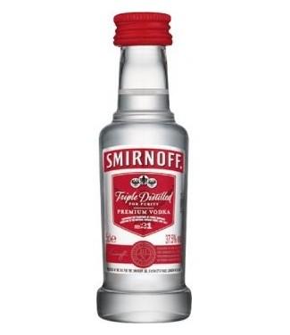 Smirnoff Vodka 5 cl