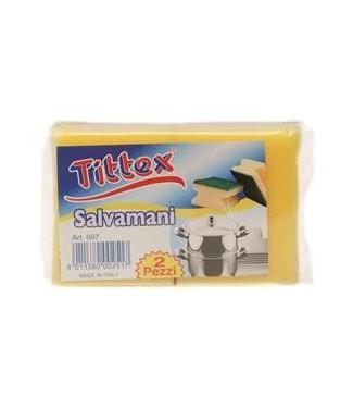 Tittex Spugne Salvamani 4 pz