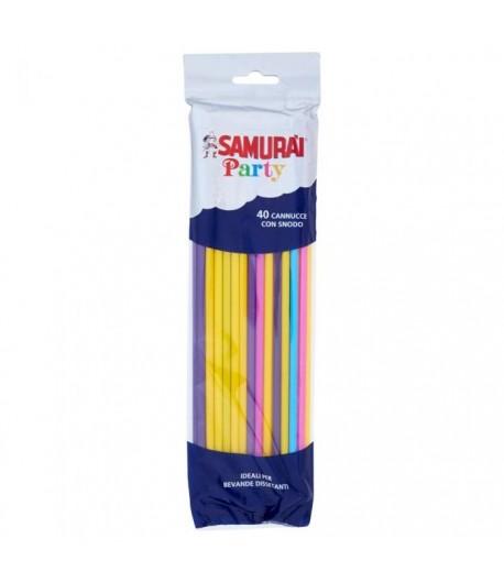 Samurai Cannucce 40 pz