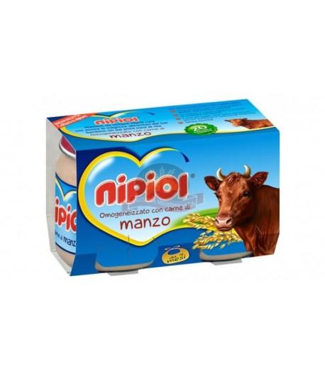 Nipiol Manzo 2 x 80 gr