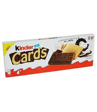 Kinder Cards 5 x 128 gr