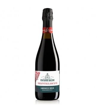 Lambrusco Rosso Frizzante Semisecco IGT Montelocco Venturini Baldini