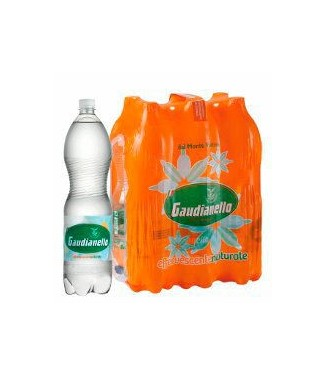 Gaudianello Acqua Frizzante 6 x 1,5 l