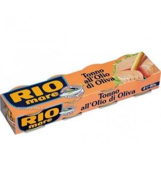 Rio Mare Tonno all'Olio di Oliva 4 x 80 g