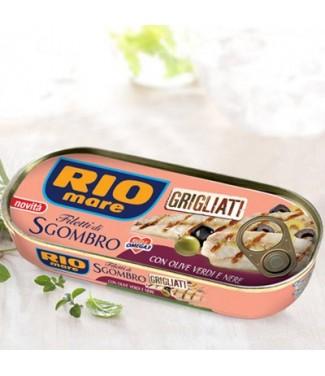 Riomare Filetti di Sgombro Grigliati all'olio extra-vergine