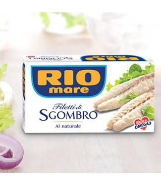 Riomare Filetti di Sgombro al Naturale