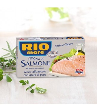 Rio Mare Filetto di Salmone Al Naturale