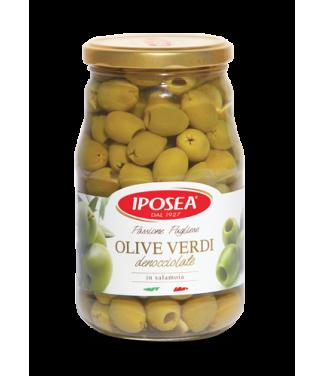 Iposea Olive Verdi Denocciolate In Salamoia