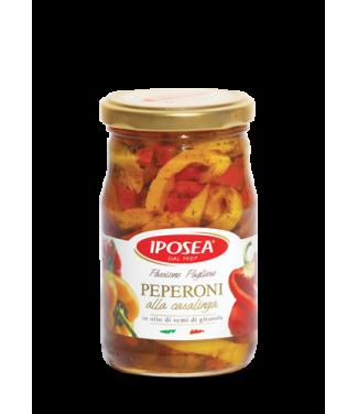 Iposea Peperoni alla Casalinga in Olio di Semi di Girasole