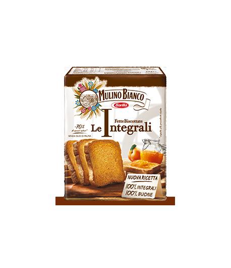 Mulino Bianco Fette Biscottate Integrali