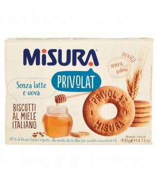 Misura Privolat Biscotti al Miele Italiano