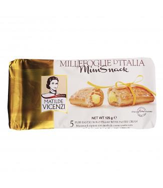 Matilde Vicenzi Millefoglie d'Italia Mini Snack Alla Crema