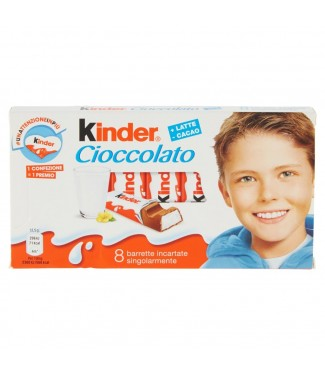 Kinder Cioccolato 8 pezzi
