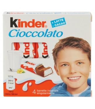 Kinder Cioccolato 4 pezzi