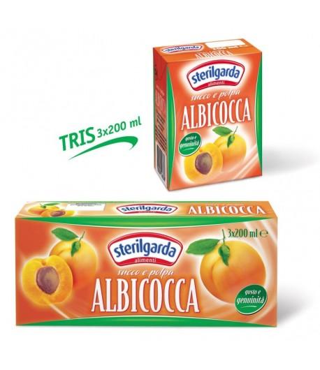 Sterilgarda Tris Albicocca 3x200ml