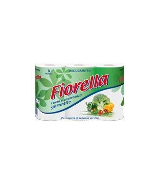 Fiorella Asciugatutto Pura Ovatta di Cellulosa 3 pz