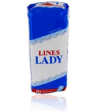 Lines Lady 10 Assorbenti Anatomici