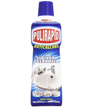 Pulirapid Anticalcare inox e Ceramica 500 ml