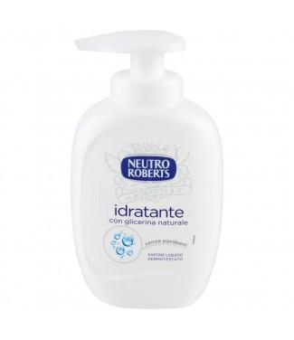 Neutro Roberts Idratante con Glicerina Naturale Sapone Liquido Dermotestato